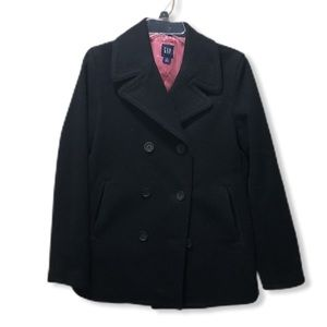 {GAP} Wool Double Breasted Peacoat